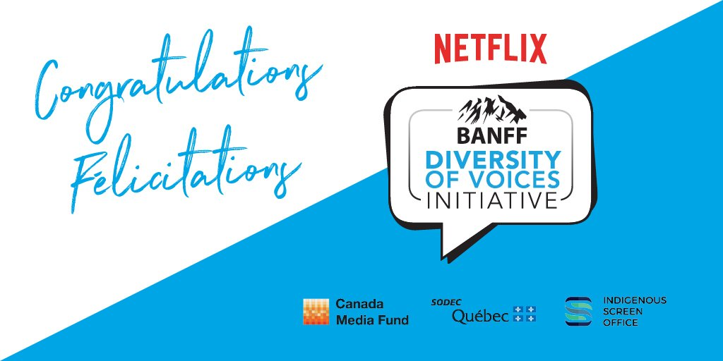 Prof. Varma selected for the NETFLIX-Banff Diversity of Voices Professional Development Program