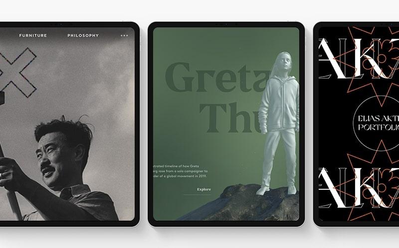 Вдохновляющие идеи для арт-дизайна сайта