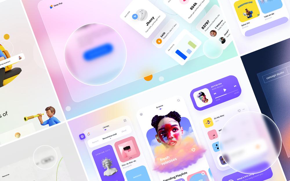 7 главных трендов в UX/UI-дизайне в 2021 году