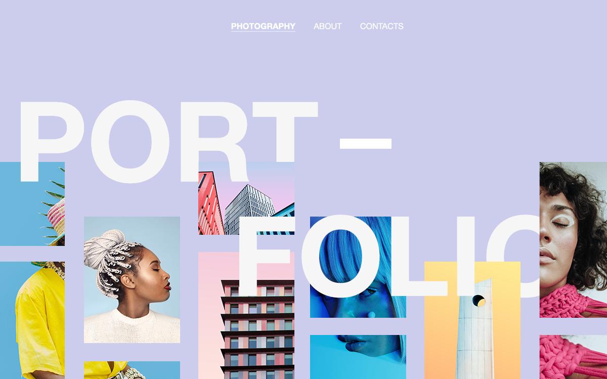 Как создать сайт-портфолио фотографа