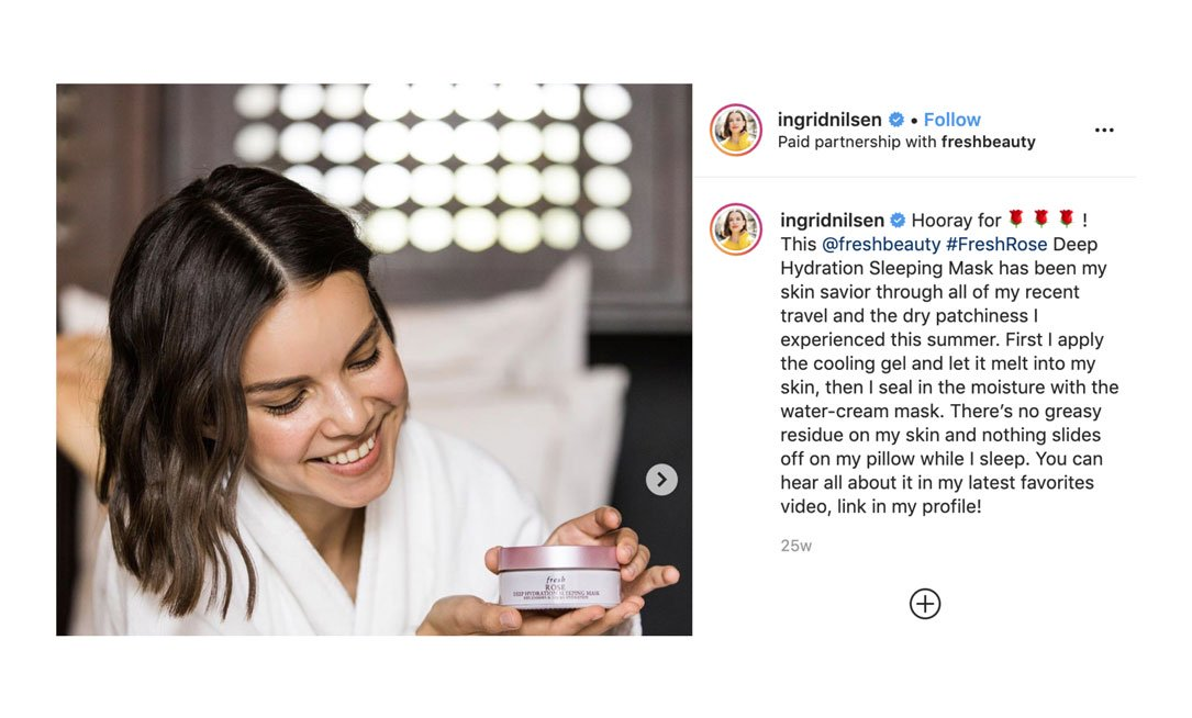 brand validation by influencers