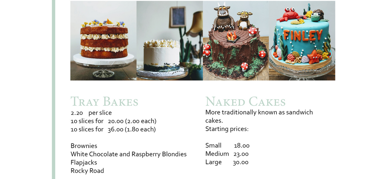 From Abbie's Kitchen – bake-on-demand cake store
