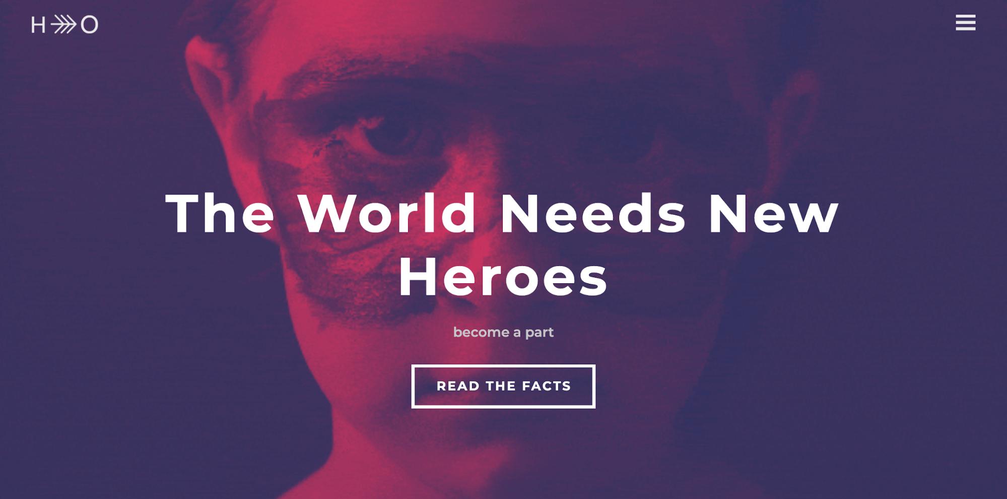 Hero-ngo website template-ucraft