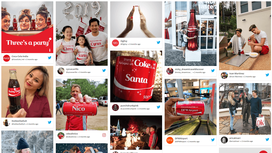 Most successful user generated content campaigns